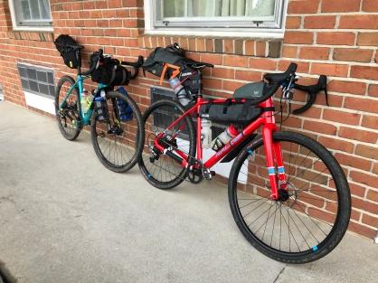 Clean bikes to start!