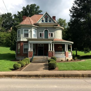 Cool old Victorian architecture from the early part of the 1900s when the railroads were still running. This house was owned by Senator Jennings Randolph.