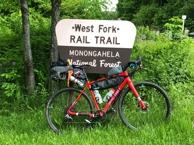 Start of the West Fork Trail.